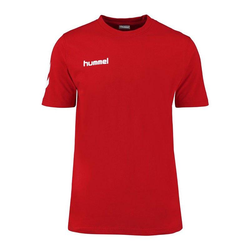 Hummel Core Cotton Tee T-Shirt Kids Rot F3062 - rot
