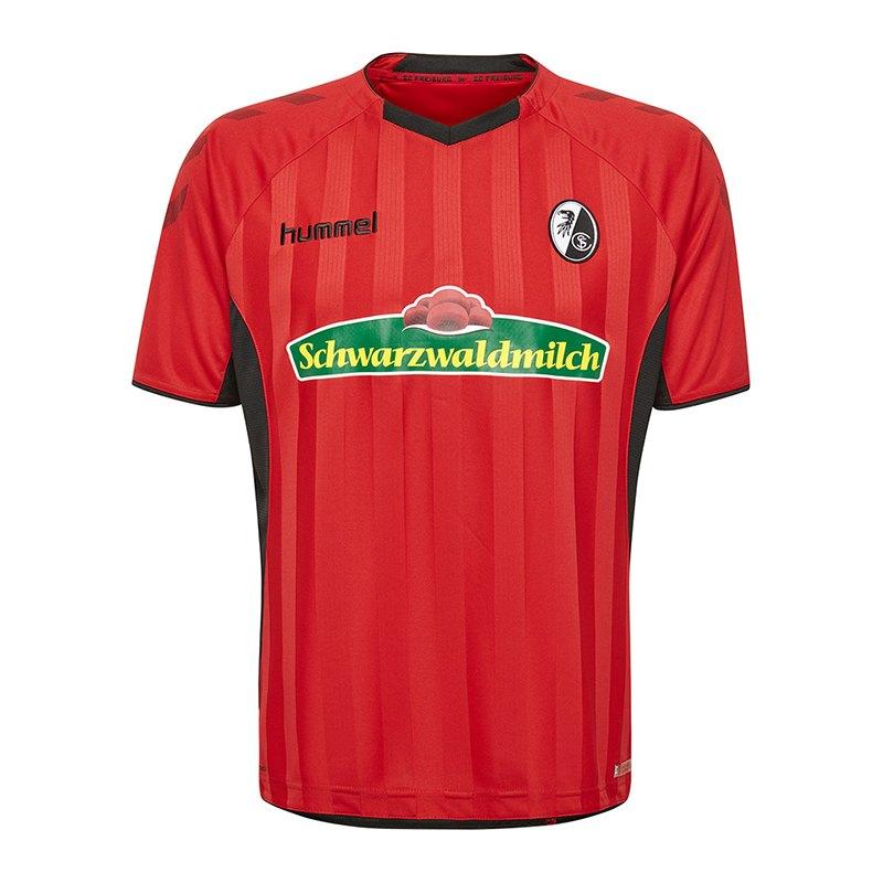 Hummel SC Freiburg Trikot Home 2018/2019 Kids Rot F3081 - rot