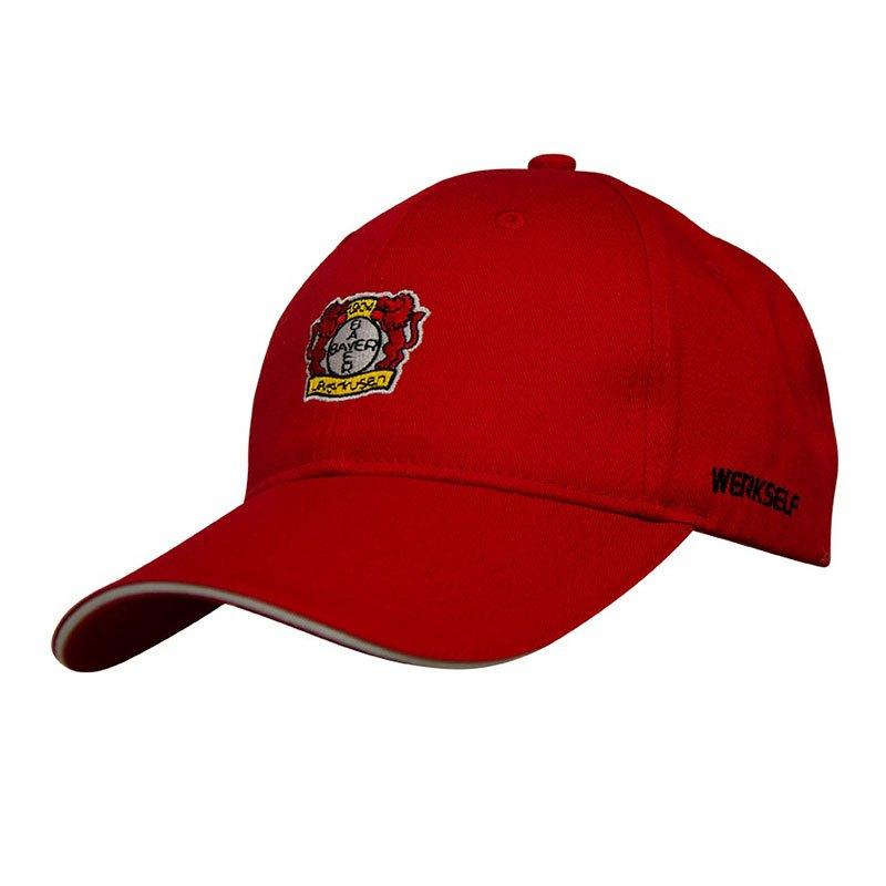 Jako Bayer 04 Leverkusen Cap Kappe Rot F01 - rot