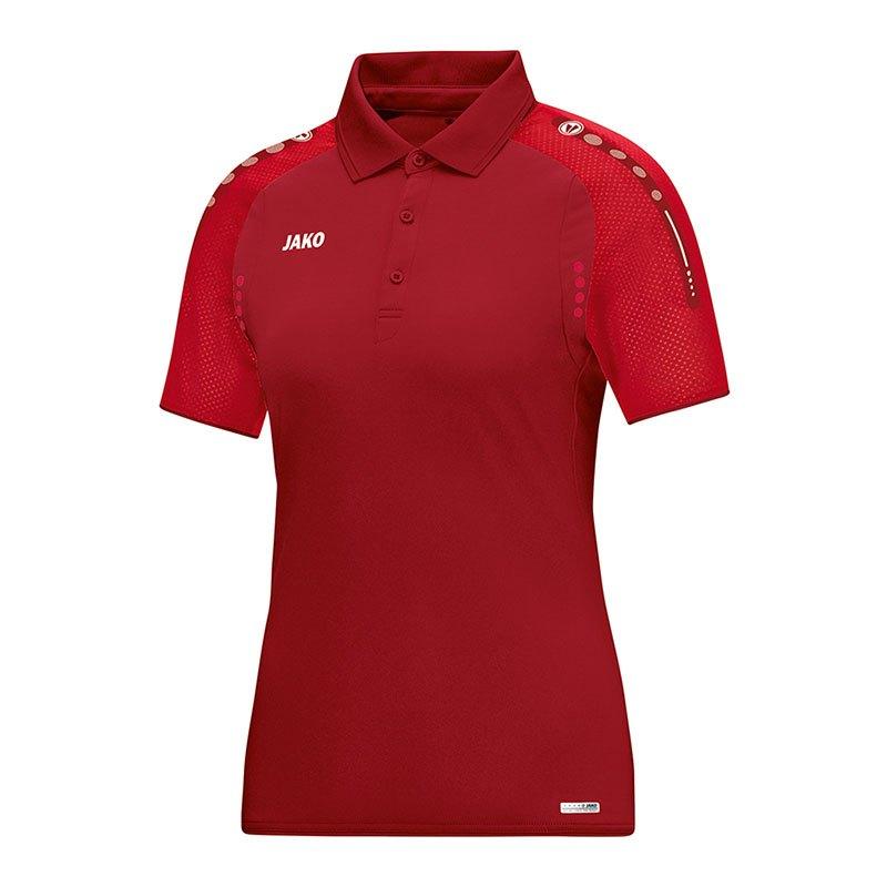 Jako Champ Poloshirt Damen Rot F01 - rot