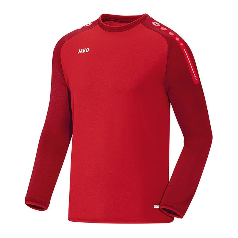 Jako Champ Sweathshirt Kids Rot F01 - rot