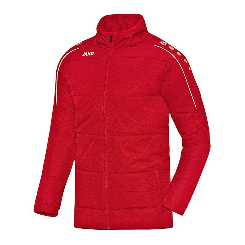 Jako Classico Coachjacke Rot F01 - rot