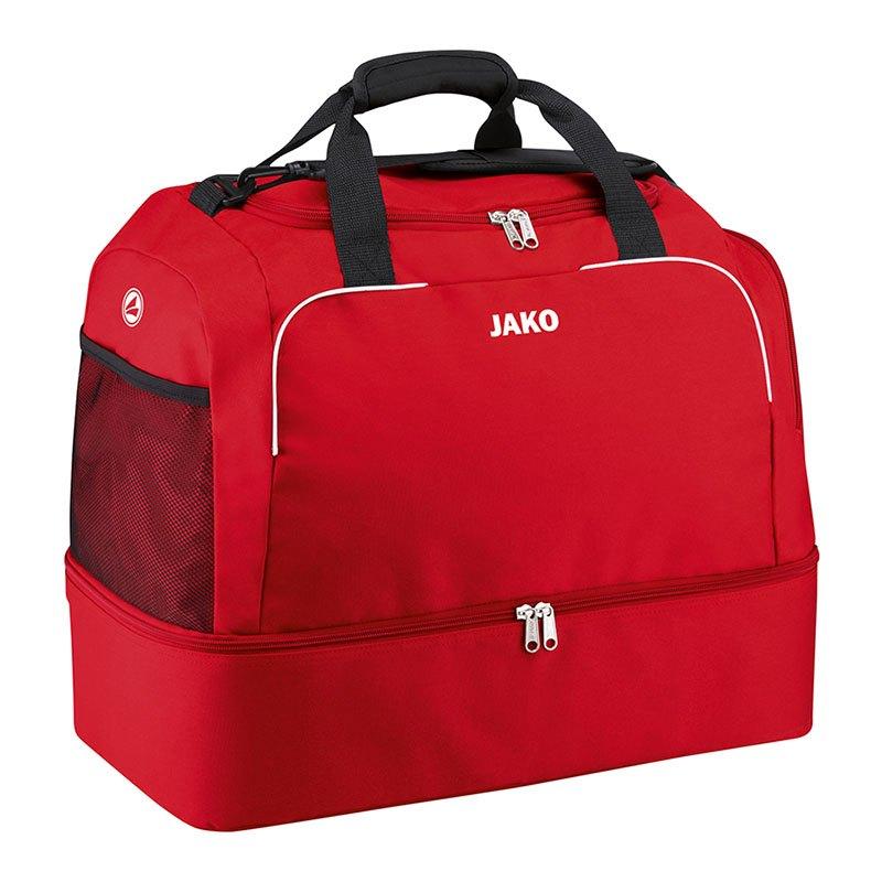 Jako Classico Sporttasche mit Bodenfach Gr. 2 F01 - rot
