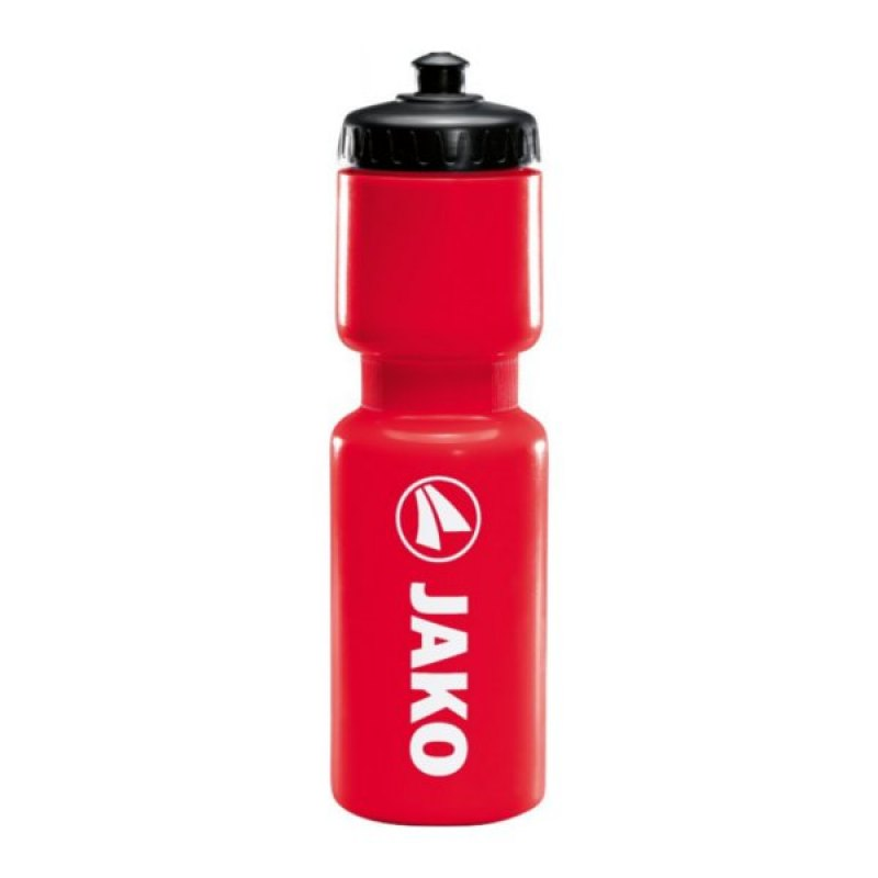 Jako Trinkflasche Rot Weiss Schwarz F01 - rot
