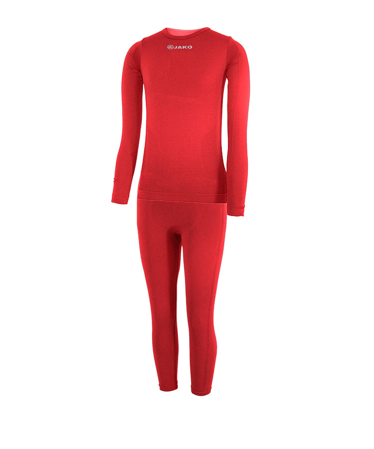 Jako Underwear Kinderset Rot F01 - rot