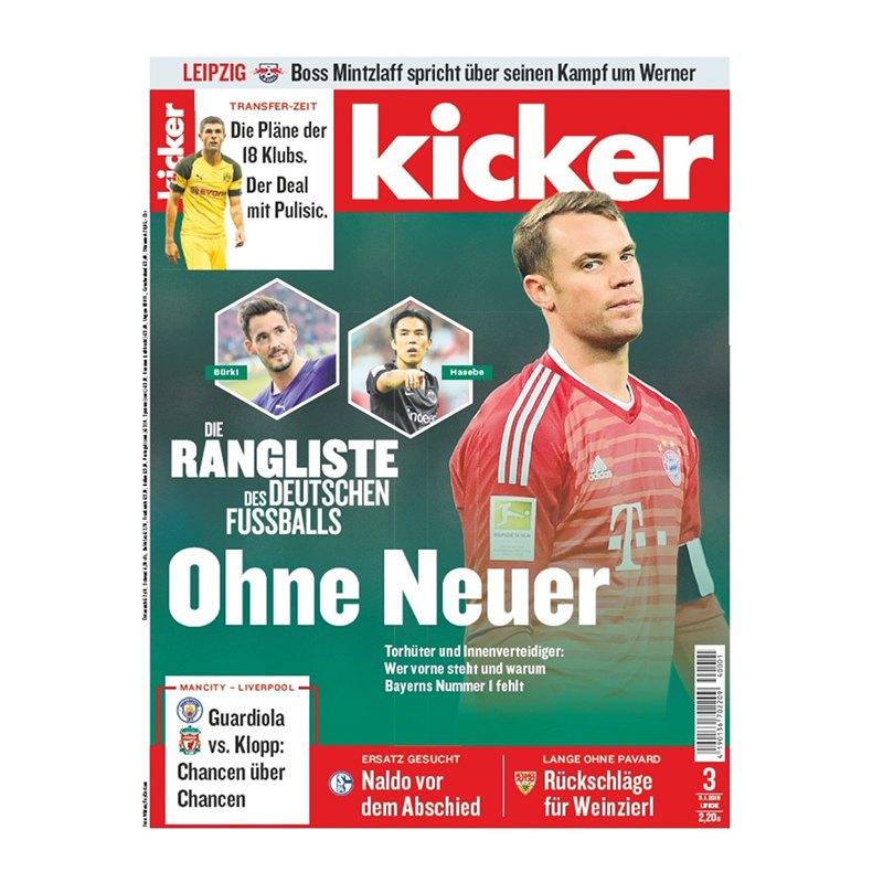 kicker Ausgabe 003/2019 vom 03.01.2019 - rot