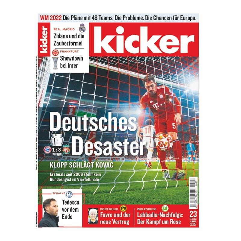 kicker Ausgabe 023/2019 vom 14.03.2019 - rot