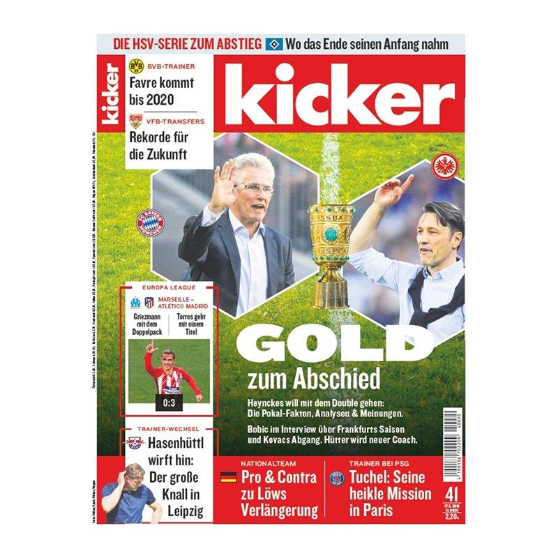 kicker Ausgabe 041/2018 vom 17.05.2018 - rot