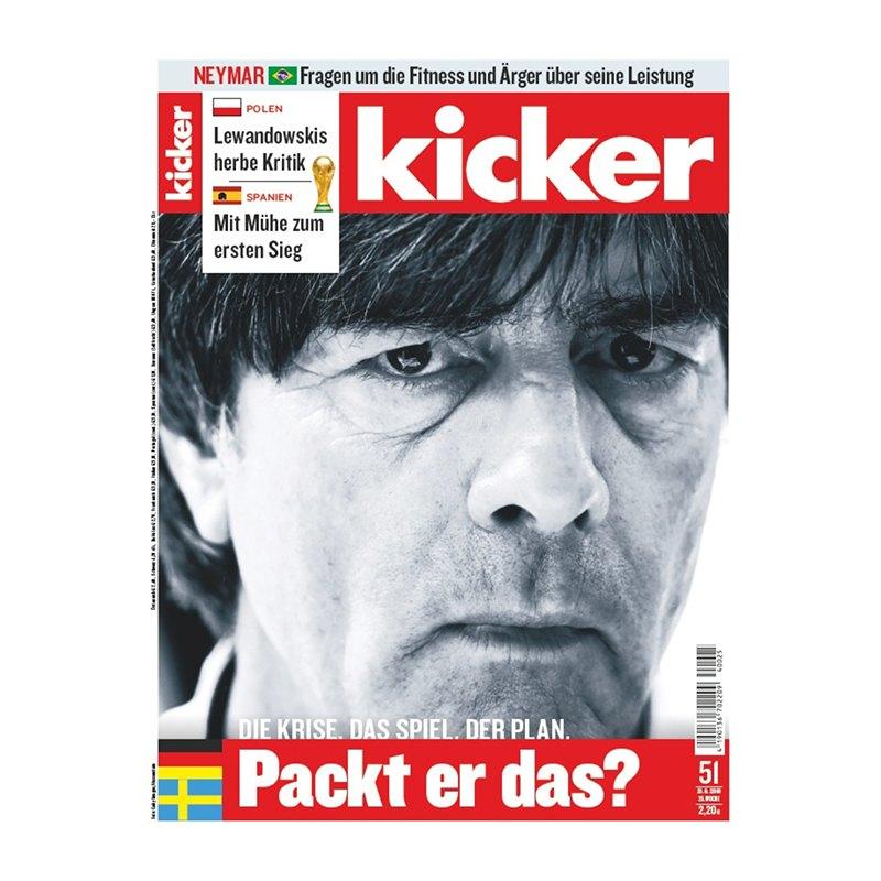 kicker Ausgabe 051/2018 vom 21.06.2018 - rot