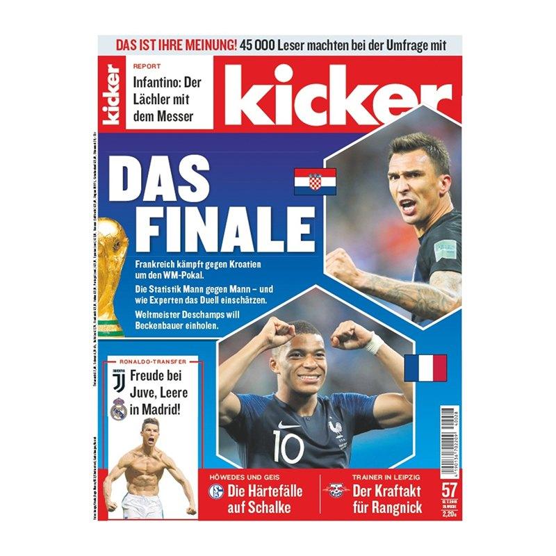 kicker Ausgabe 057/2018 vom 12.07.2018 - rot