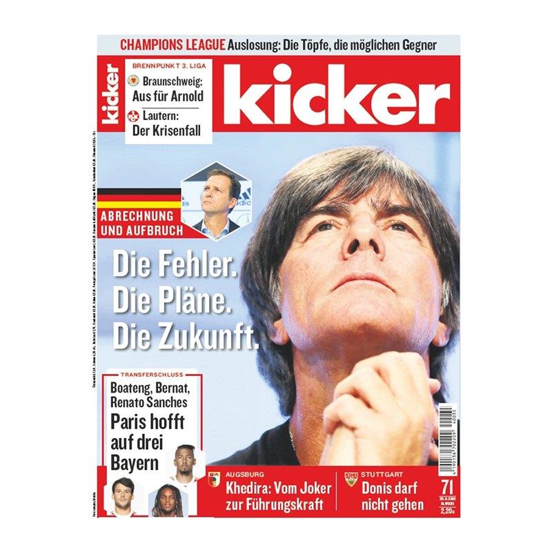 kicker Ausgabe 071/2018 vom 30.08.2018 - rot