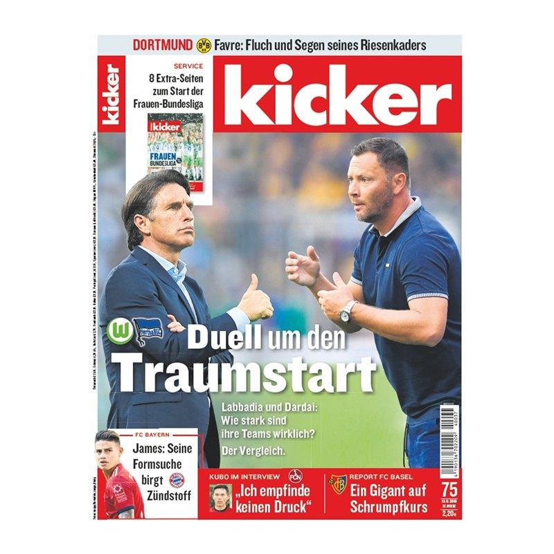 kicker Ausgabe 075/2018 vom 13.09.2018 - rot