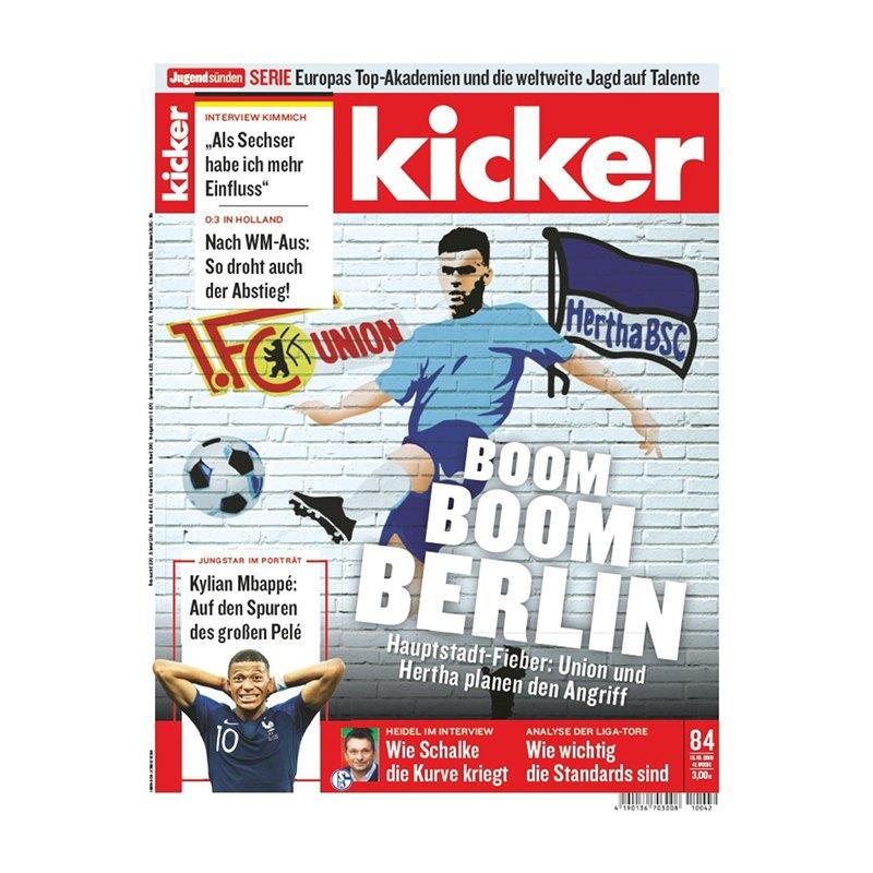 kicker Ausgabe 084/2018 vom 15.10.2018 - rot