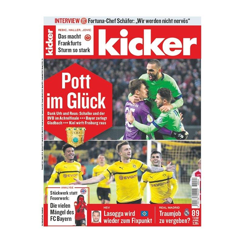 kicker Ausgabe 089/2018 vom 01.11.2018 - rot