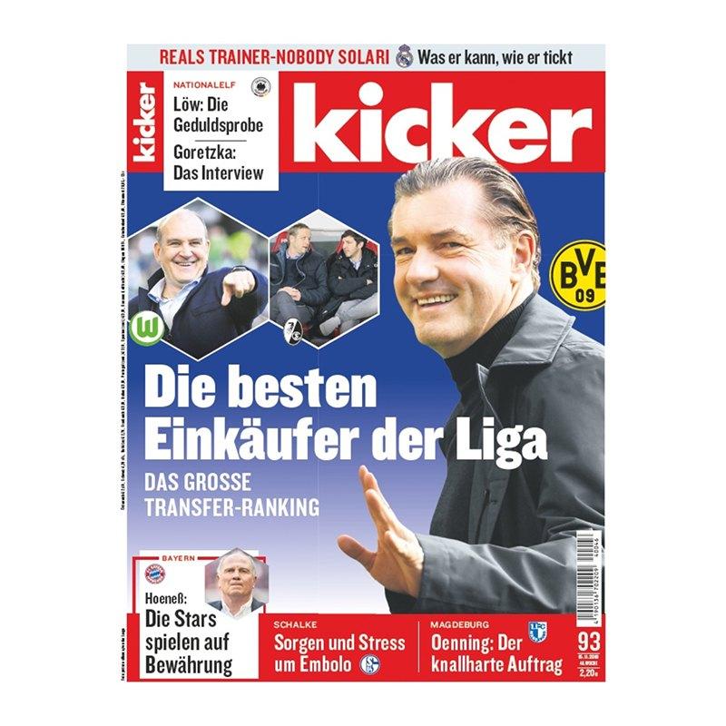 kicker Ausgabe 093/2018 vom 15.11.2018 - rot