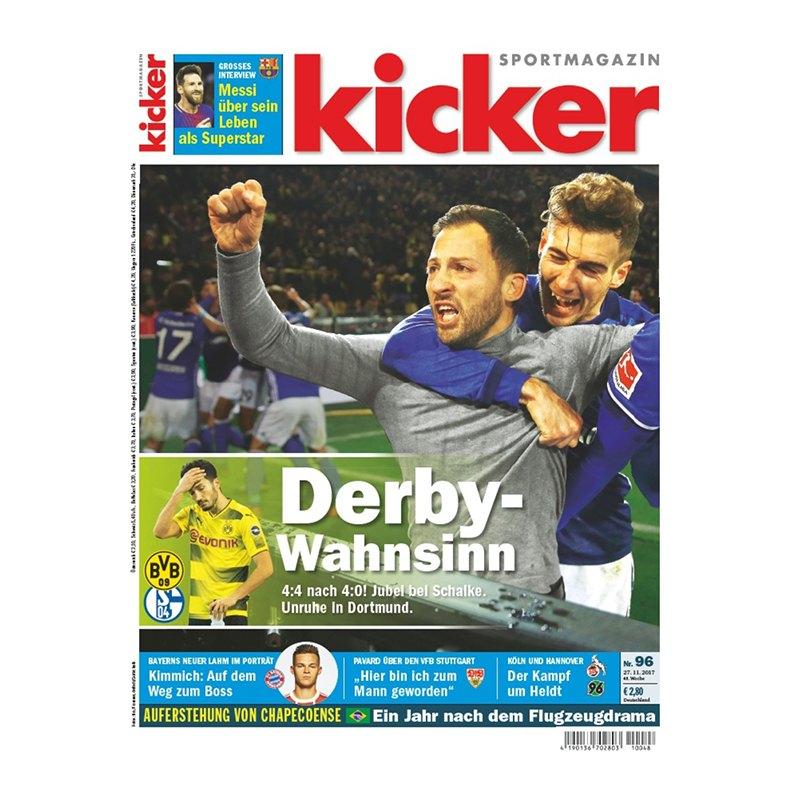 kicker Ausgabe 096/2017 vom 27.11.2017 - rot