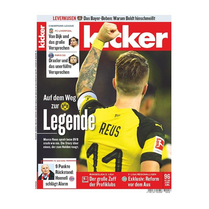 kicker Ausgabe 096/2018 vom 26.11.2018 - rot
