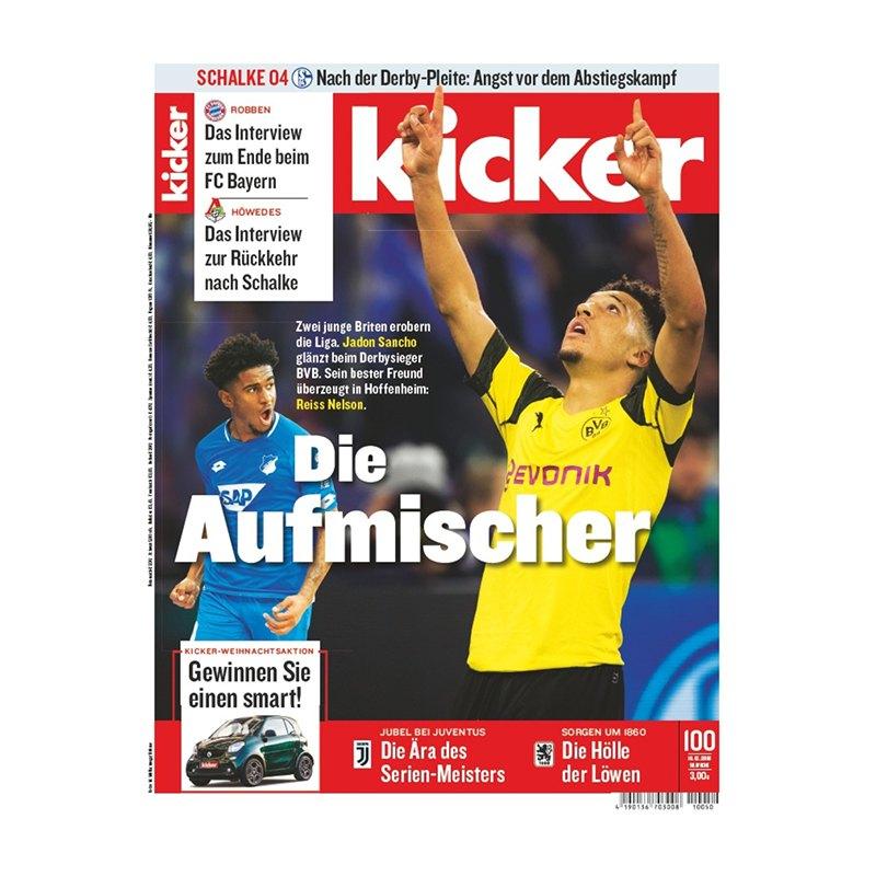 kicker Ausgabe 100/2018 vom 10.12.2018 - rot