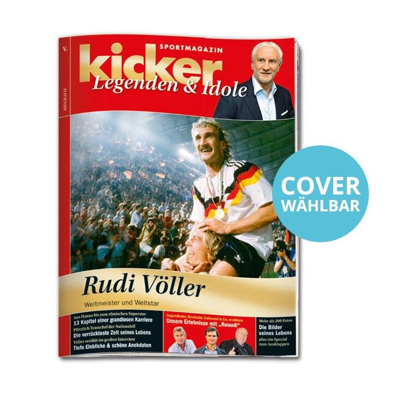 kicker Legenden & Idole Rudi Völler - rot
