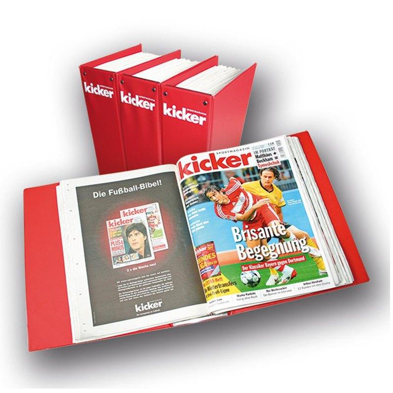 kicker Sammelmappe 2019 - rot