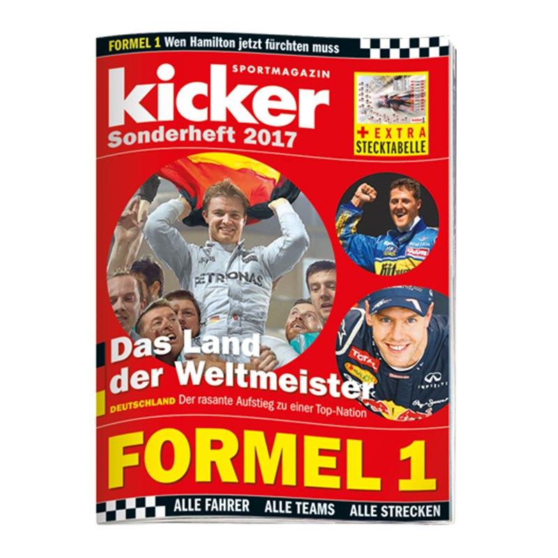 kicker Sonderheft Formel 1 2017 - rot