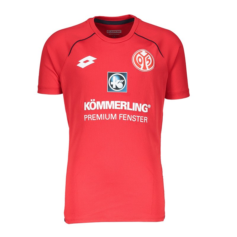 Lotto 1. FSV Mainz 05 Trainingsshirt Kids Rot - rot