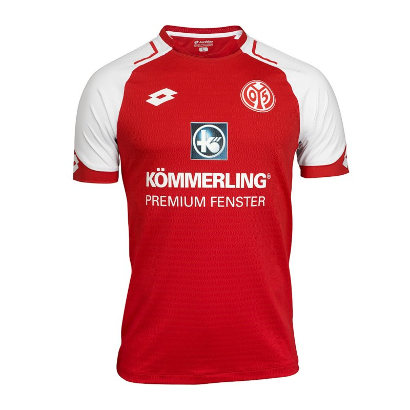 Lotto 1. FSV Mainz 05 Trikot Home 17/18 Kids Rot - rot