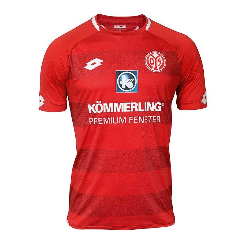 Lotto 1. FSV Mainz 05 Trikot Home 2018/2019 Rot - rot