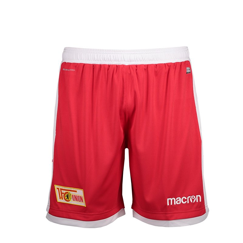 Macron 1. FC Union Berlin Short Home Kids 18/19 Rot - rot