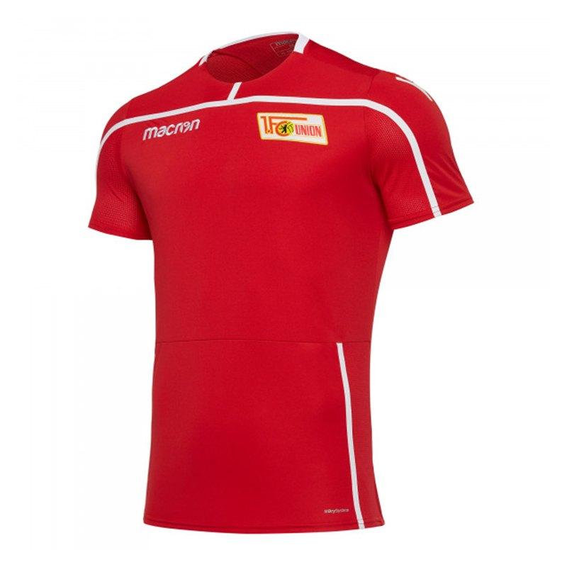 Macron 1. FC Union Berlin Trainingsshirt Rot - rot