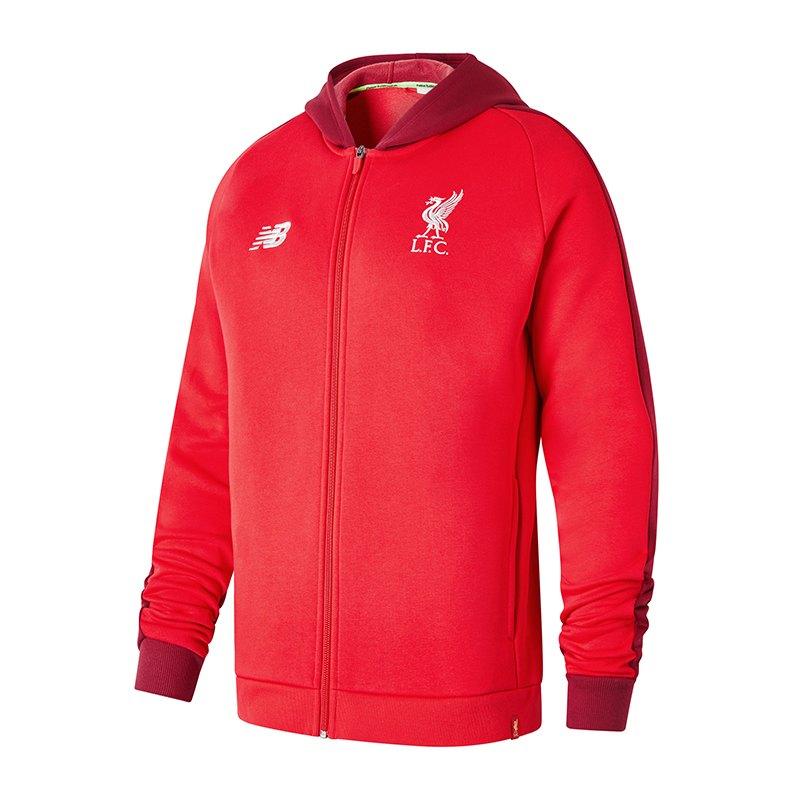 New Balance FC Liverpool Elite Leisure Hoody F4 - rot