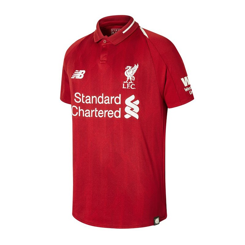 New Balance FC Liverpool Trikot Home Kids 2018/ 2019 Rot F01 - rot