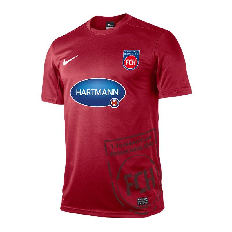 Nike 1. FC Heidenheim Trikot Away Kids 15/16 F657 - rot