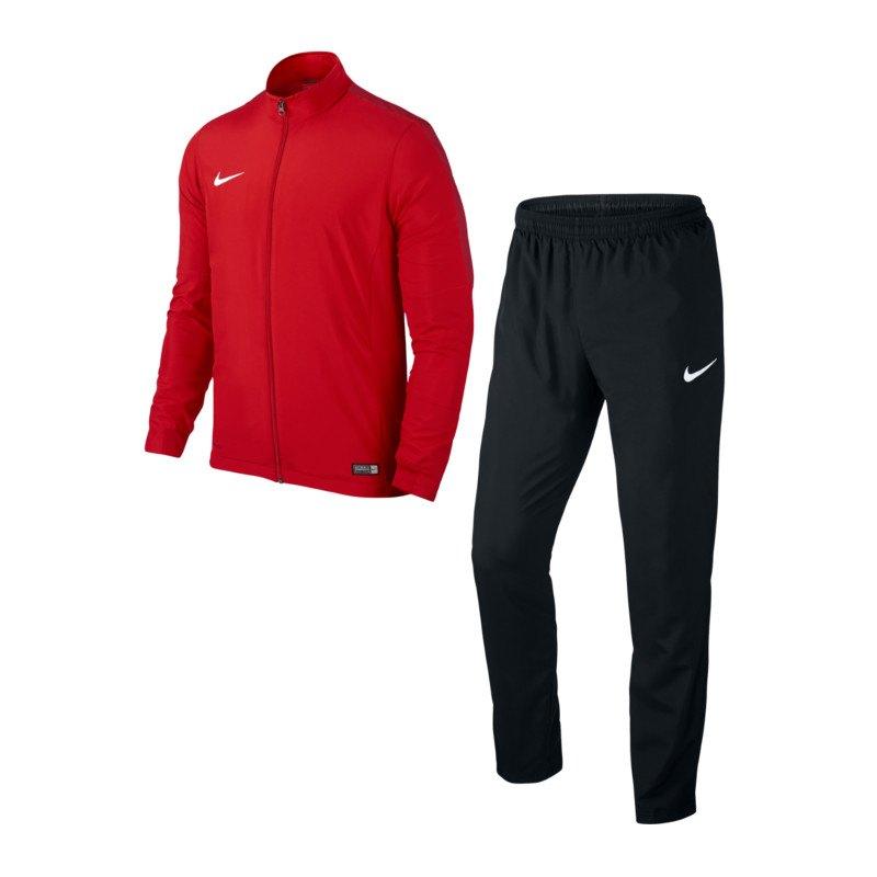 Nike Academy 16 Woven Trainingsanzug 2 Kids F657 - rot