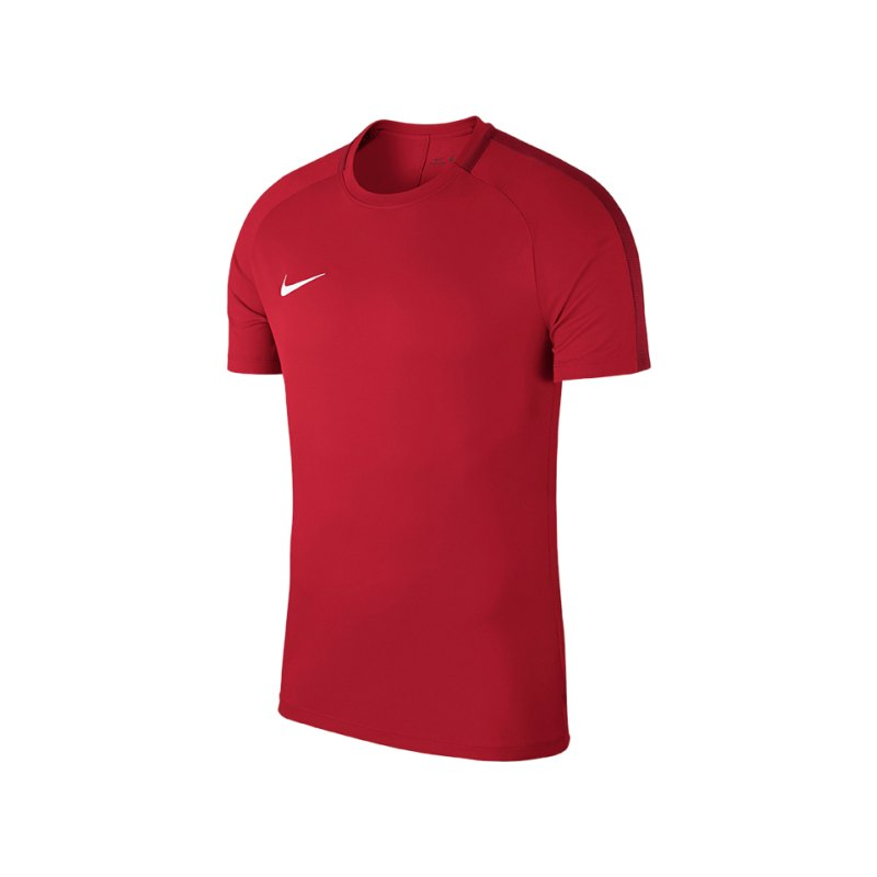 Nike Academy 18 Football Top T-Shirt Kids F657 - rot