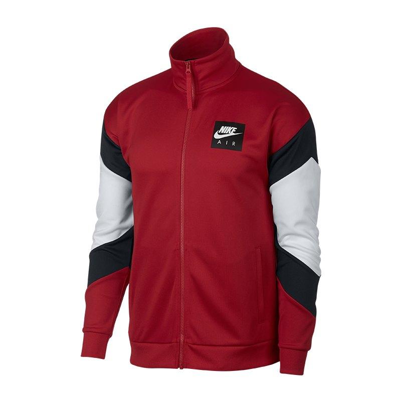 bad80851821b Nike Air Jacket Jacke Rot Schwarz Weiss F687   Freizeit   Lifestyle ...