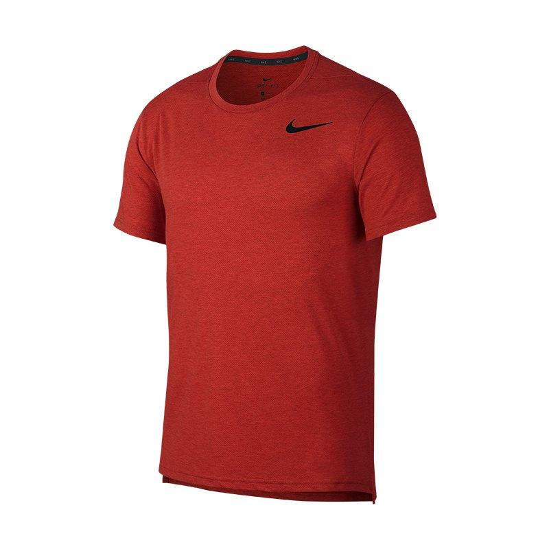 Nike Breathe Dri-FIT T-Shirt Rot F622 - rot
