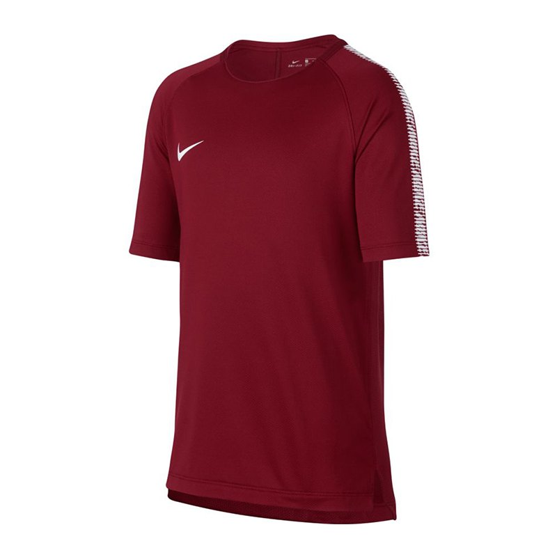 Nike Breathe Squad Football Top kurzarm Kids F608 - rot