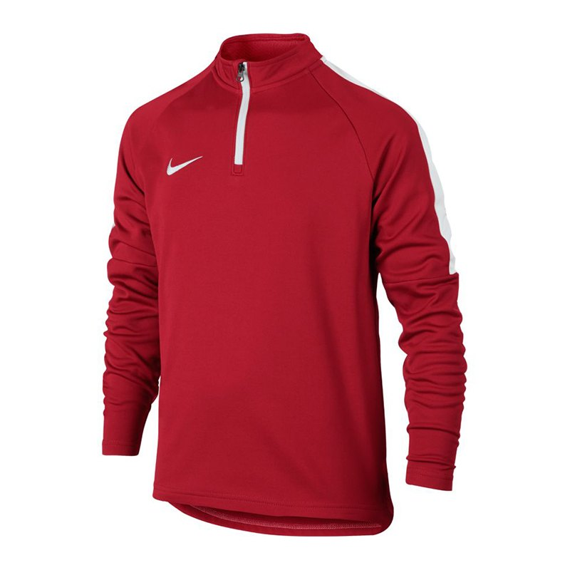 Nike Dry Academy Football Drill Top LS Kids F657 - rot