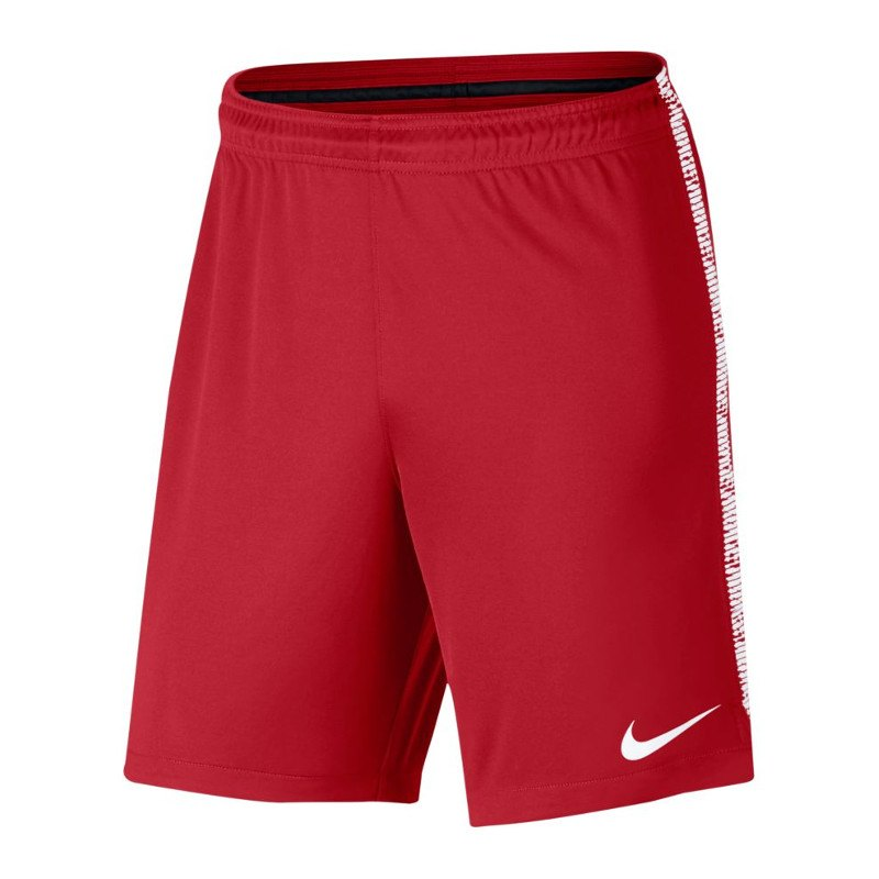 Nike Dry Squad Short Hose kurz Rot Weiss F657 - rot