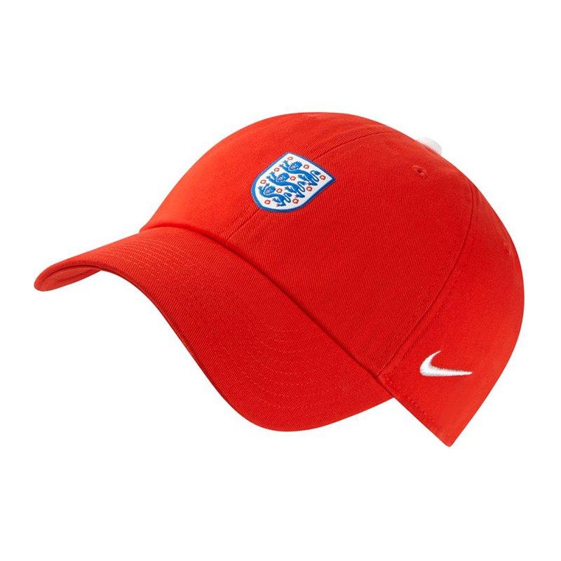 Nike England H86 Cap Kappe Rot F600 - rot