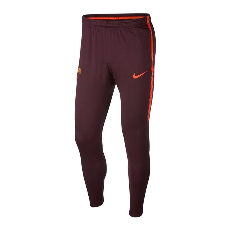 Nike FC Barcelona Dry Squad Pant Rot F685 - rot