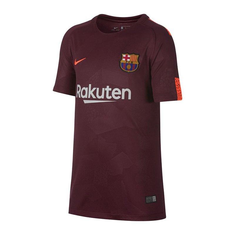Nike FC Barcelona Trikot UCL 2017/2018 Rot F683 - rot