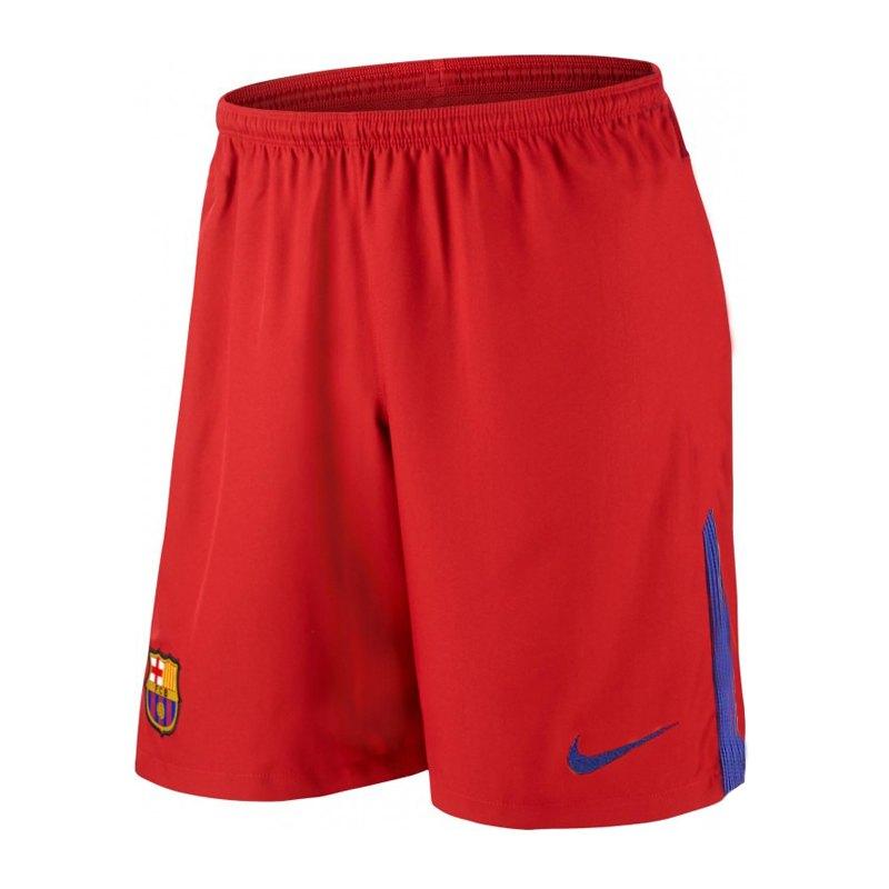 Nike FC Barcelona TW-Short 2017/2018 Kids F657 - rot