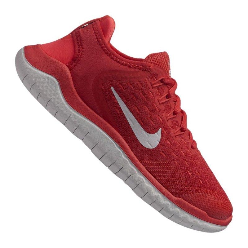 Nike Free RN 2018 Running Kids Rot Grau F600 - rot