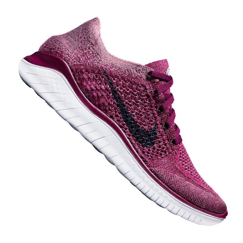 Nike Free RN Flyknit 2018 Running Damen F600 - rot