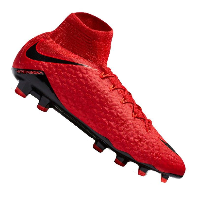 Nike Hypervenom Phatal III DF FG Rot F616 - rot