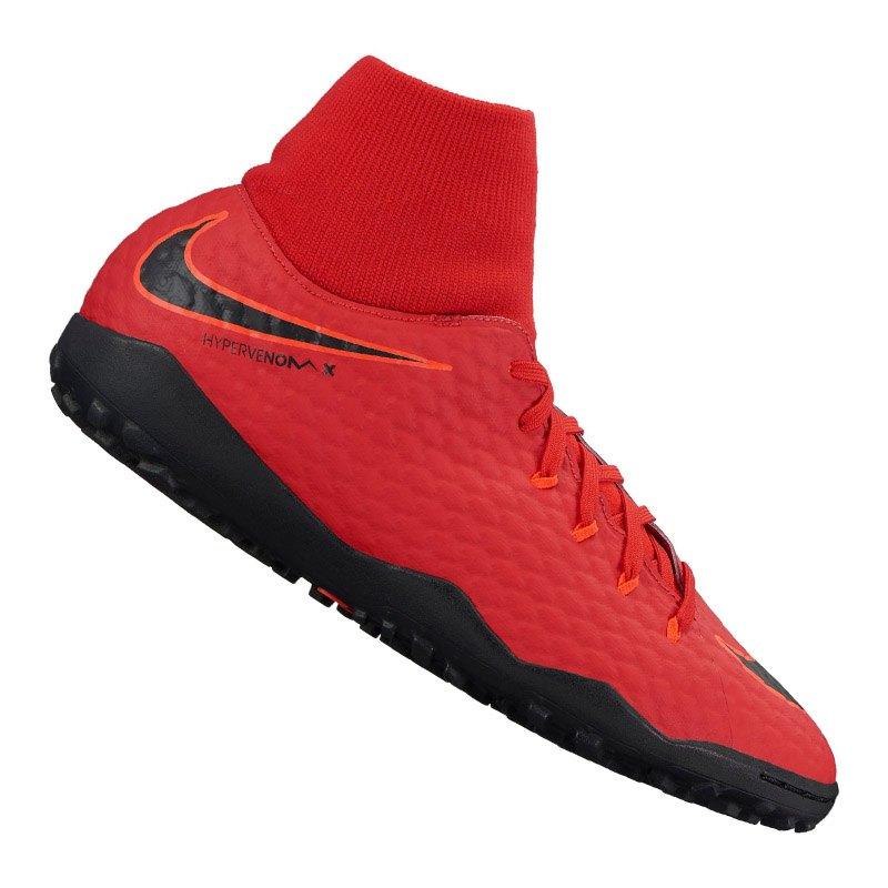 Nike Hypervenom Phelon III DF TF Rot F616 - rot