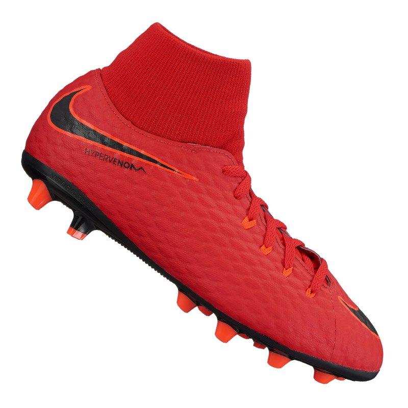 Nike Jr Hypervenom Phelon III DF AG-Pro Kids F616 - rot