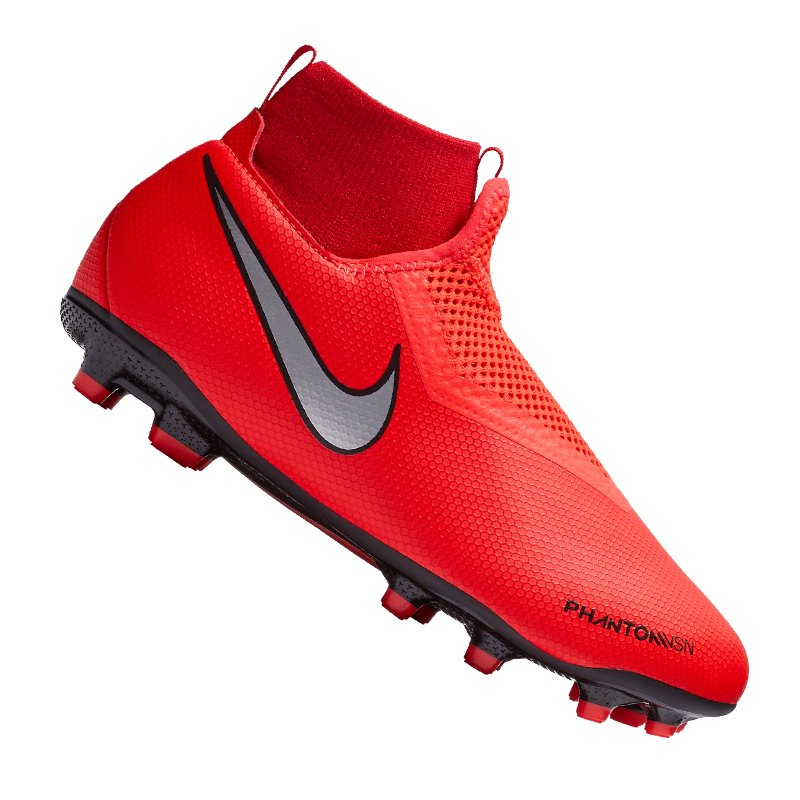 Nike Jr Phantom Vision Academy DF MG Kids F600 - rot